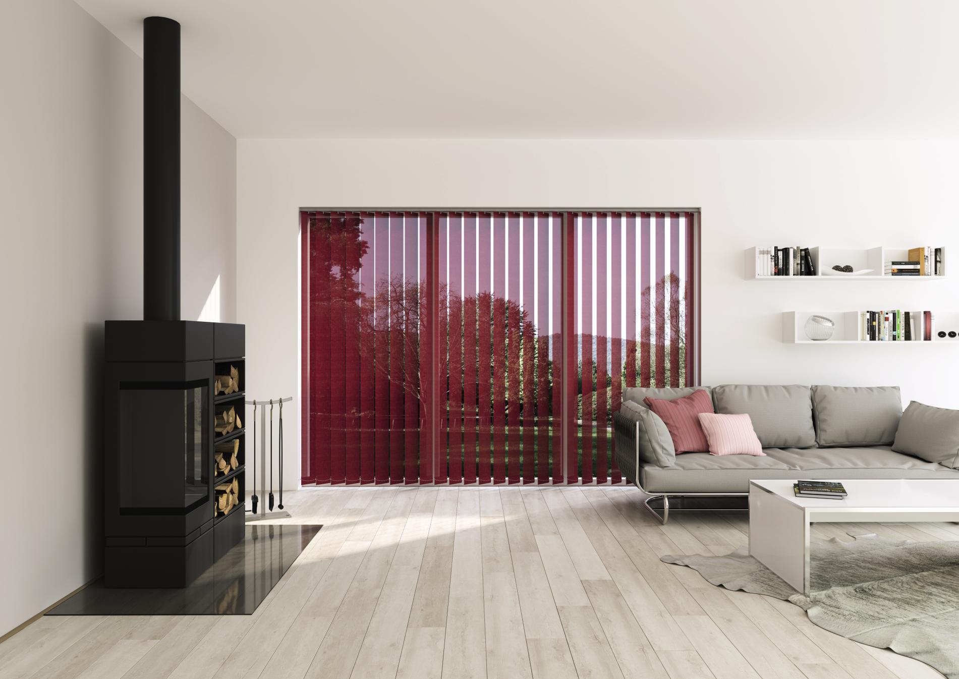vertikal jalousien lamellen top vorhang vertikal lamellen fenster jalousie tren in diedersdorf. Black Bedroom Furniture Sets. Home Design Ideas